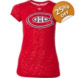 Montreal Canadiens Women's Red Burnout..