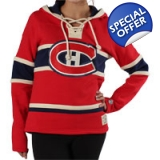 Women's Lace Jersey Hoodie Old Time Ho..