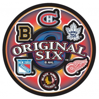 NHL Original Six Retro Puck Rondelle
