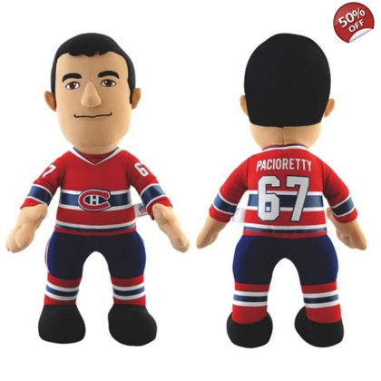 NHL Montreal Canadiens Plush Player Doll Max Pacioretty