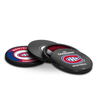 Montreal Canadiens 4-Pack Puck Coaster..