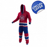 Montreal Canadiens NHL Adult Onesie  H..