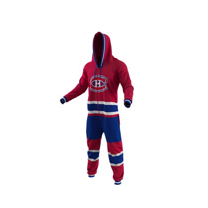 NHL Adult Onesie  Hockey Sockey