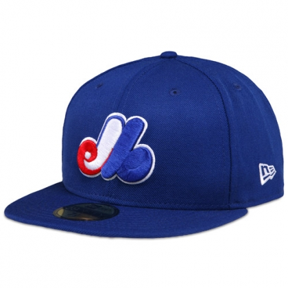 newera montreal expos cooperstown fitted mlb baseball cap