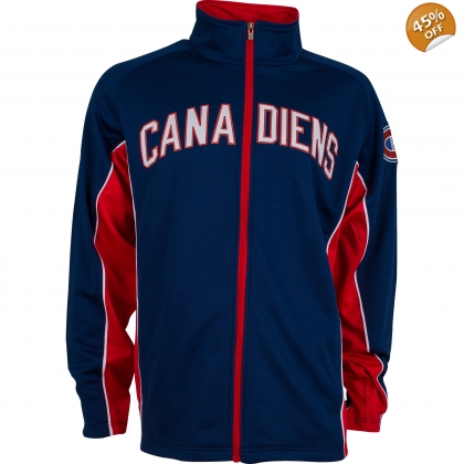 Montreal Canadiens old time hockey Seward Track Jacket