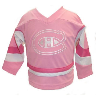 Kids NHL Montreal Canadiens Pink Jersey