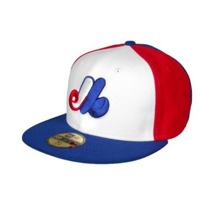 Montreal Expos Cooperstown Fitted Game MLB Baseball Cap 59FIFTY NewEra