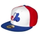 New Era Montreal Expos Cooperstown Fitted 59FIFTY MLB Baseball Cap