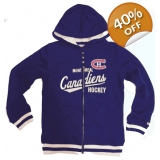 Montreal Canadiens CCM Womens Full Zip..