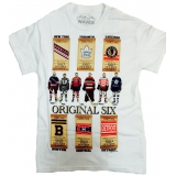 Original Six White Vintage NHL T-Shirt