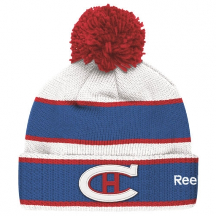Winter Classic 2016 Montreal Canadiens REEBOK  Cuffed Pom Knit Adult
