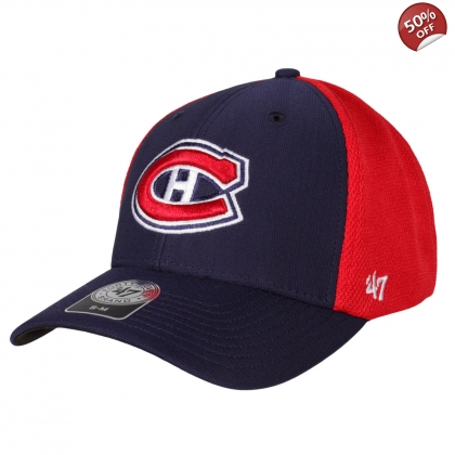 47 brand Montreal Canadiens Hockey Five Hole Cap Damaged