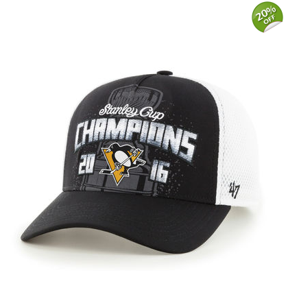 Pittsburgh Penguins 2016 Stanley Cup Champions Locker Room Hat