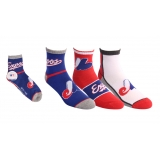 Montreal Expos Athletic Socks 3 Pack