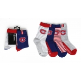 Boys Crew Socks 4 Pairs Montreal Canad..
