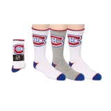 Youth Crew Socks 3 Pairs Montreal Cana..