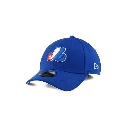 Montreal Expos New Era 39Thirty Team Classic Cap Dark Royal Blue