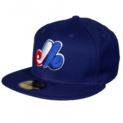 Montreal Expos 59FIFTY Authentic Game Fitted Cap by New Era