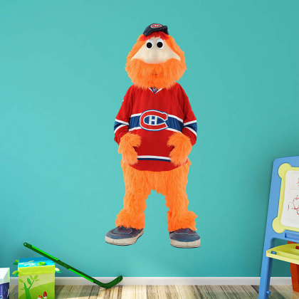 Youppi Real Big Fathead Peel & Stick Wall Decal Poster