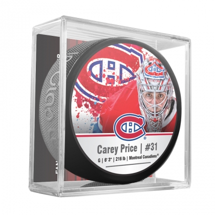 Carey Price 31 Montreal Canadiens NHLPA Star Puck