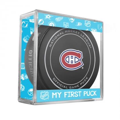 Montreal Canadiens NHL New Fan Baby Official Game Puck