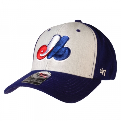 Montreal Expos Heritage Backstop Stretch Fit Cap