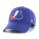 Montreal Expos Heritage MVP Cap Hat Royal Blue 47 Brand Adult