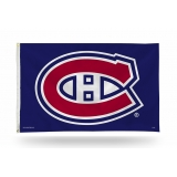 Montreal Canadiens Flag 3ft x 5ft Navy..