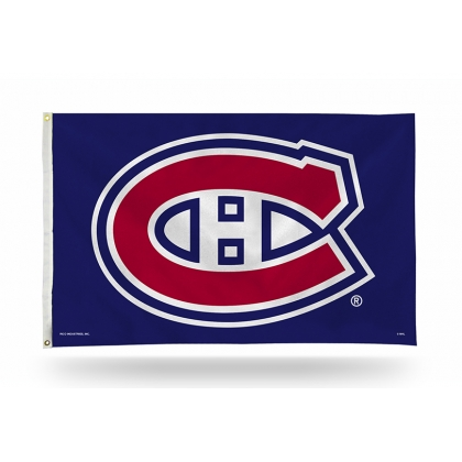 Montreal Canadiens Flag 3ft x 5ft Navy Blue