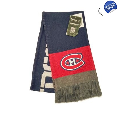 Montreal Canadiens Reebok Center Ice Team Scarf