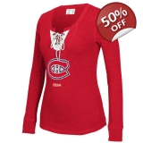 Women's CCM Red Montreal Canadiens Lac..