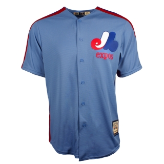 Montreal Expos MLB Men's Columbia Blue..