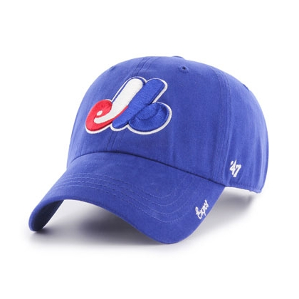Women's Montreal Expos Miata Clean Up Hat 47 Brand