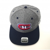 Montreal Canadiens Grey Snap Back Cap
