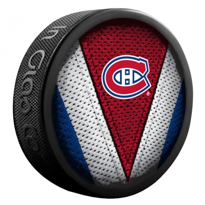 Montreal Canadiens Stitch Souvenir Puck COPY