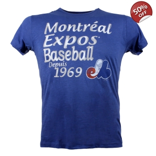Montreal Expos Cooperstown Anthem T-sh..