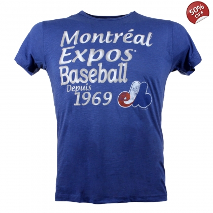 Montreal Expos Cooperstown Anthem T-shirt