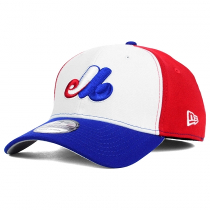 Montreal Expos New Era 39THIRTY Tricolor Team Classic Cap