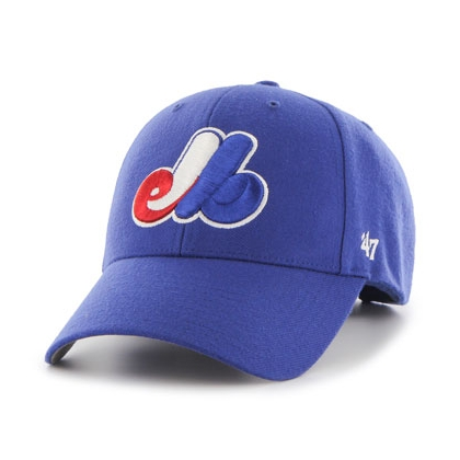 Youth 47 Brand Montreal Expos Heritage MLB Basic MVP Hat