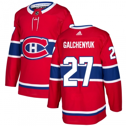 Alex Galchenyuk Montreal Canadiens Adidas Authentic Pro Jersey