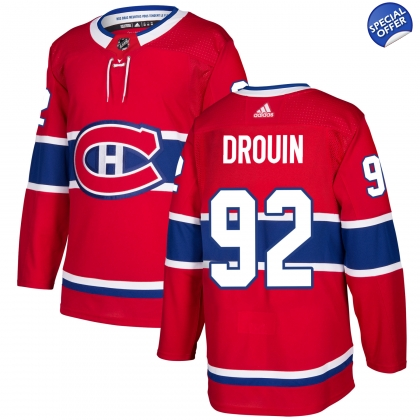 Jonathan Drouin Montreal Canadiens Adidas Authentic Pro Jersey f121f8a55