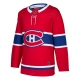 Montreal Canadiens Adidas Authentic Red Home Jersey ADIZERO
