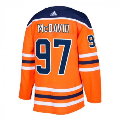 Connor McDavid 97 Edmonton Oilers Adidas Authentic NHL Pro Jersey