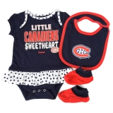 Montreal Canadiens Baby 3-pc Creeper S..