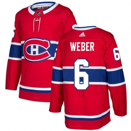 Shea Weber 6 Montreal Canadiens Adidas Authentic Pro Jersey