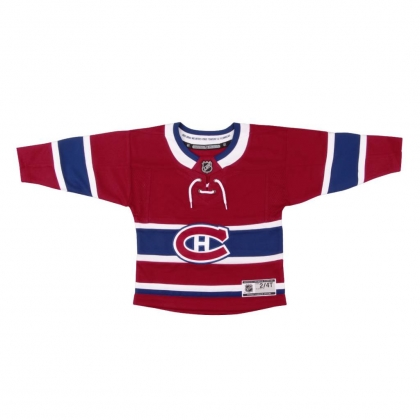 Kids Montreal Canadiens NHL Embroidered Jersey