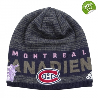 Hockey Fights Cancer Beanie Touque Mon..