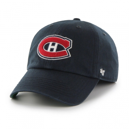 Montreal Canadiens Basic Slouch Adjustable Navy Hat 47 Brand