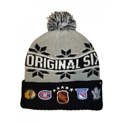 Original 6 Cuffed Pom Knit Hat 47 Brand NHL