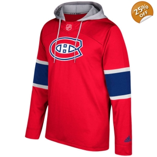 Men's Montreal Canadiens adidas Red Si..